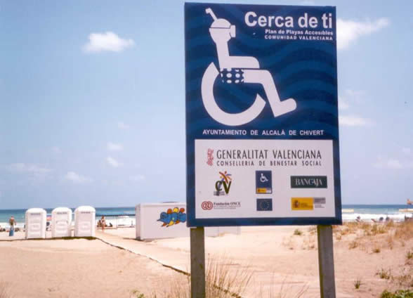 playa Accesible Valencia